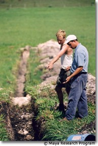 Archaeological Excavations at Blue Creek