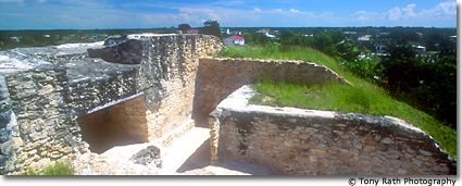 Santa Rita Mayan Site on Hill Above Corozal Town