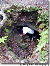 Guide Exploring a Chultun or Storage Chamber